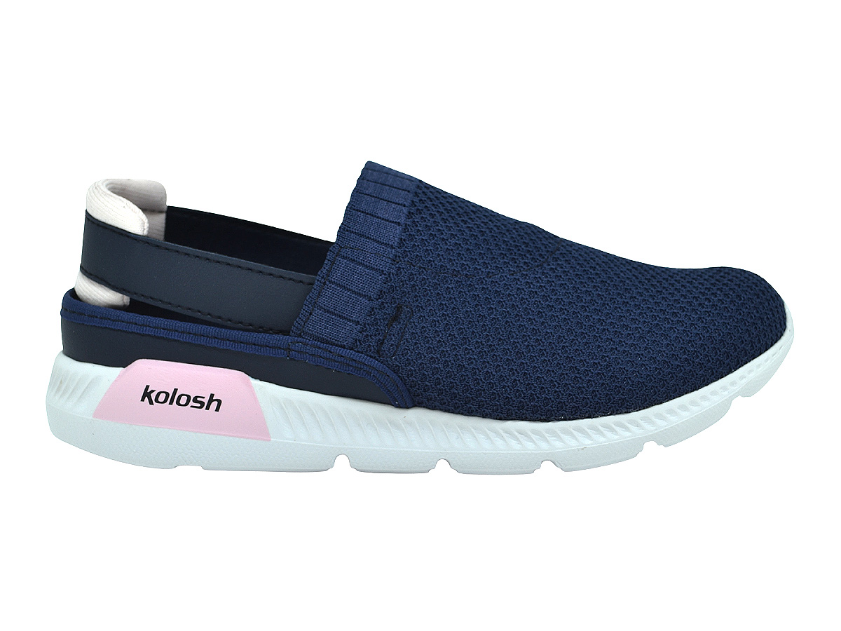 Tênis Feminino Babuche confortável Kolosh K8486a Azul