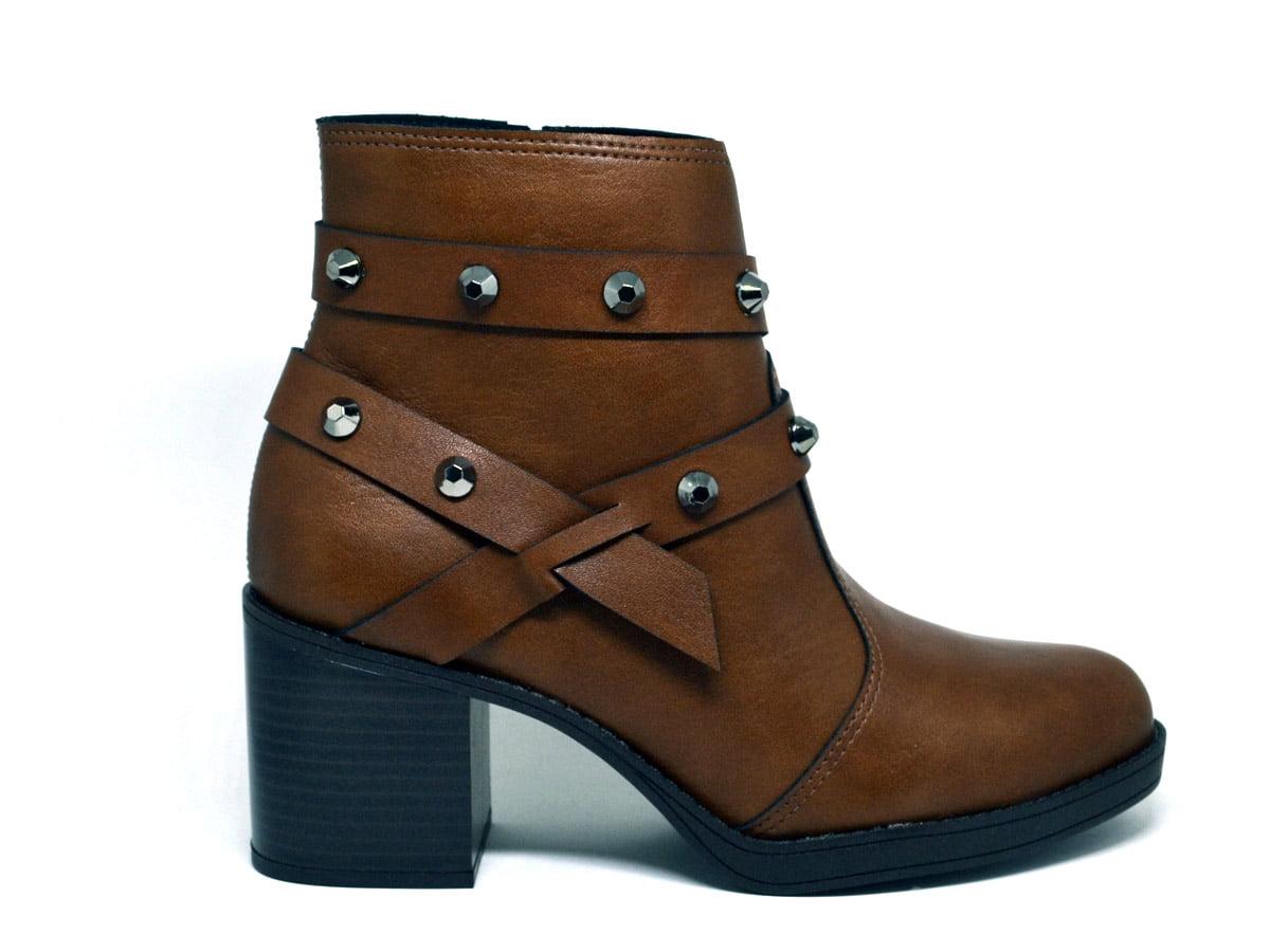 Bota Feminina Ankle Boot Salto Grosso Beira Rio 9065103 B13