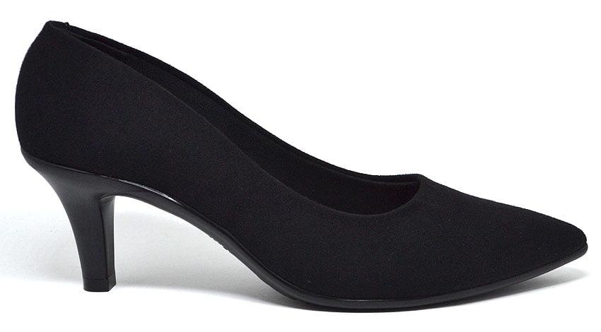 Sapato Feminino Scarpin Salto Médio Camurça Beira Rio 4163