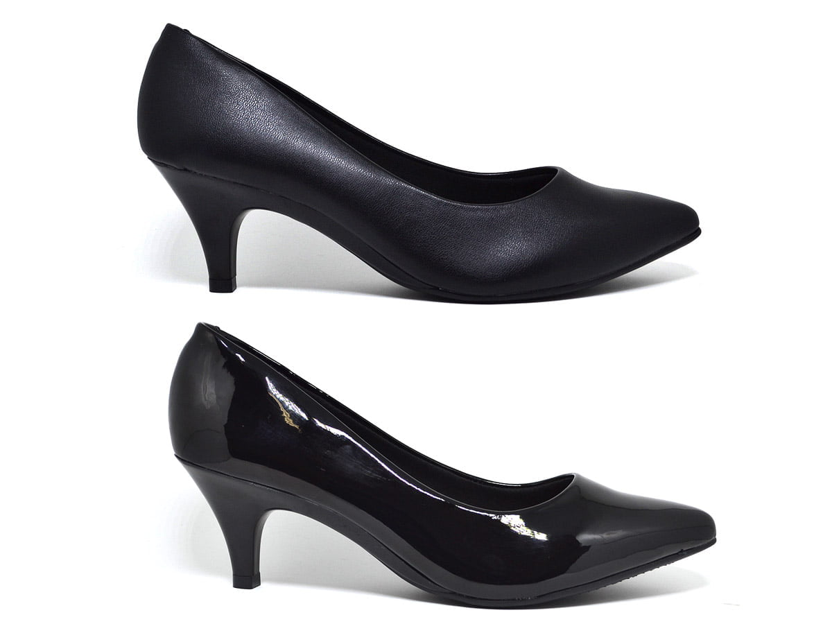 Sapato Feminino Scarpin Verniz Napa Original Beira Rio 4076