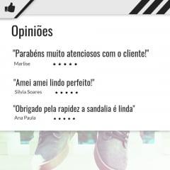 Sandalia Plataforma Anabela Corda Moleca 5411
