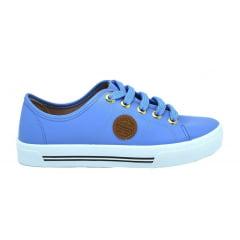 Tênis Feminino Casual Moleca 5667 Azul Jeans