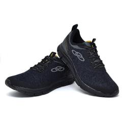 Tenis masculino caminhada confortavel olympikus fourty preto