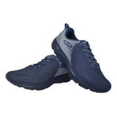 Tênis Masculino Caminhada Academia Olympikus Index Azul
