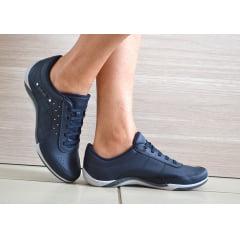 Sapatênis Tênis Casual Feminino Elástico Kolosh C1296 Azul