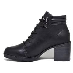 Bota Feminina Ankle Boot Coturno Salto Grosso Beira Rio 9065
